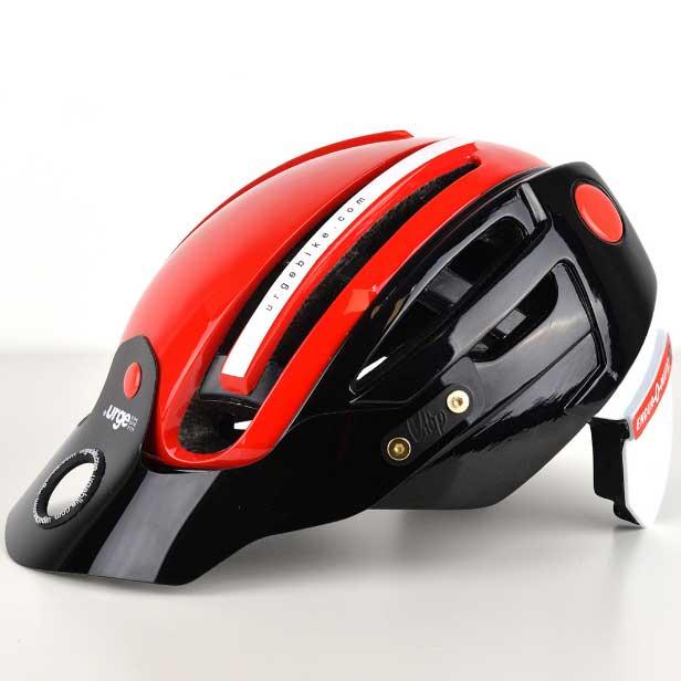 アージュ Endur-o-Matic 2 (フレックスバイザー) レッド/ブラックバイザー ヘルメット
