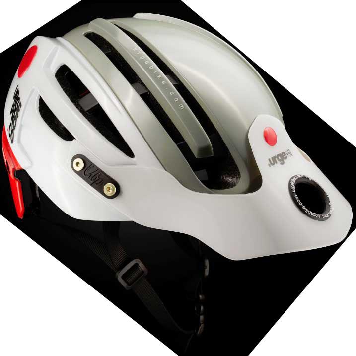 アージュ Endur-o-Matic 2 (フレックスバイザー) シルバー/ホワイトバイザー ヘルメット