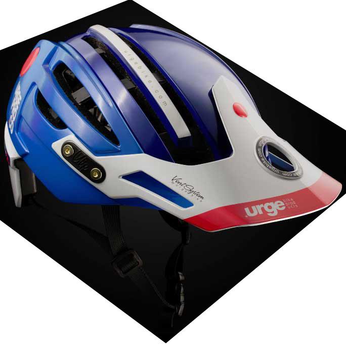【現品特価】アージュ Endur-o-Matic 2 (ハードバイザー) ブルー ヘルメット