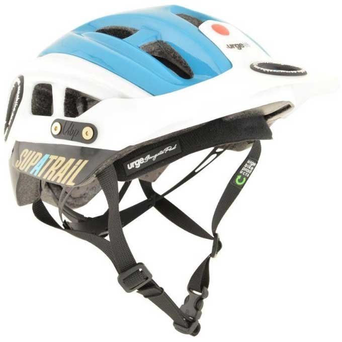 【現品特価】アージュ SupAtrail(スパトレイル) バイザー付 ブルー ヘルメット