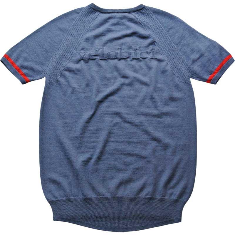ベロビチ Firenze メリノ Tシャツ スティール(ブルー)