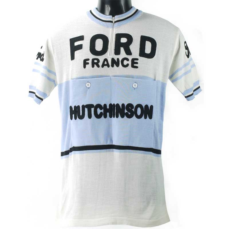 Vintage Velo Classics Ford France Hutchinson ジャージ