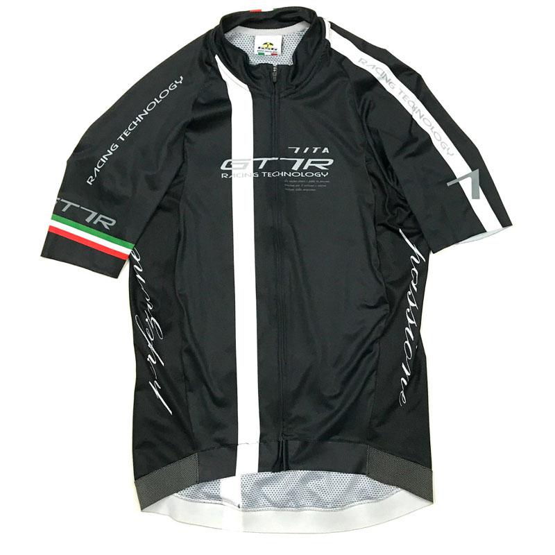 セブンイタリア GT-7RR Jersey ブラック/ホワイト