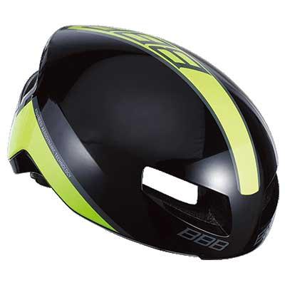 BBB ティトノス V2 BHE-08 グロッシーブラック/ネオンイエロー ヘルメット
