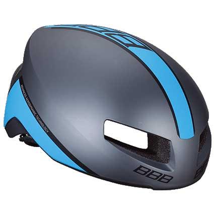 BBB ティトノス V2 BHE-08 マットグレー/ブルー ヘルメット
