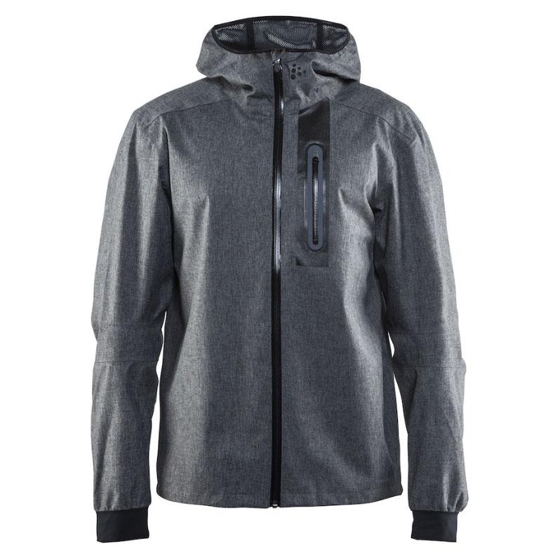 クラフト Ride Rain Jacket DK Grey/Melange/Black