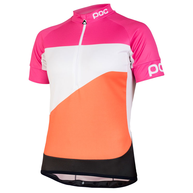 POC Fondo Gradient WO Classic Jersey Theor Multi Pink レディース