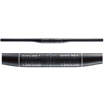 リッチー WCS CARBON X2 MATTE UD カーボン バークランプ径:31.8mm MTBハンドル【自転車】【マウンテンバイクパーツ】
