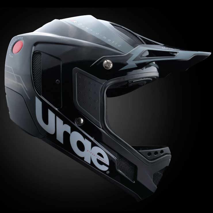アージュ Down-O-Matic RR(ダウン オ マティック RR) ブラック ヘルメット