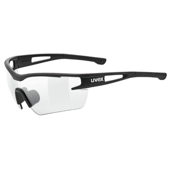 ウベックス スポーツスタイル 116 v ブラックマット サングラス(調光レンズ)