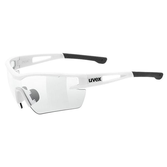 ウベックス スポーツスタイル 116 v ホワイト サングラス(調光レンズ)