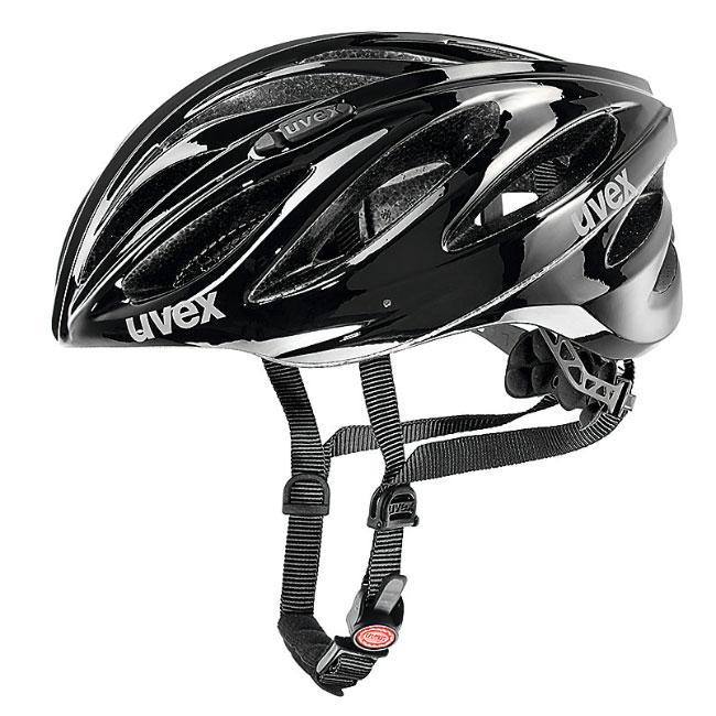 ウベックス BOSS RACE ブラック ヘルメット