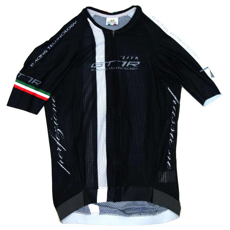 セブンイタリア GT-7RR Climber's Jersey ブラック/ホワイト