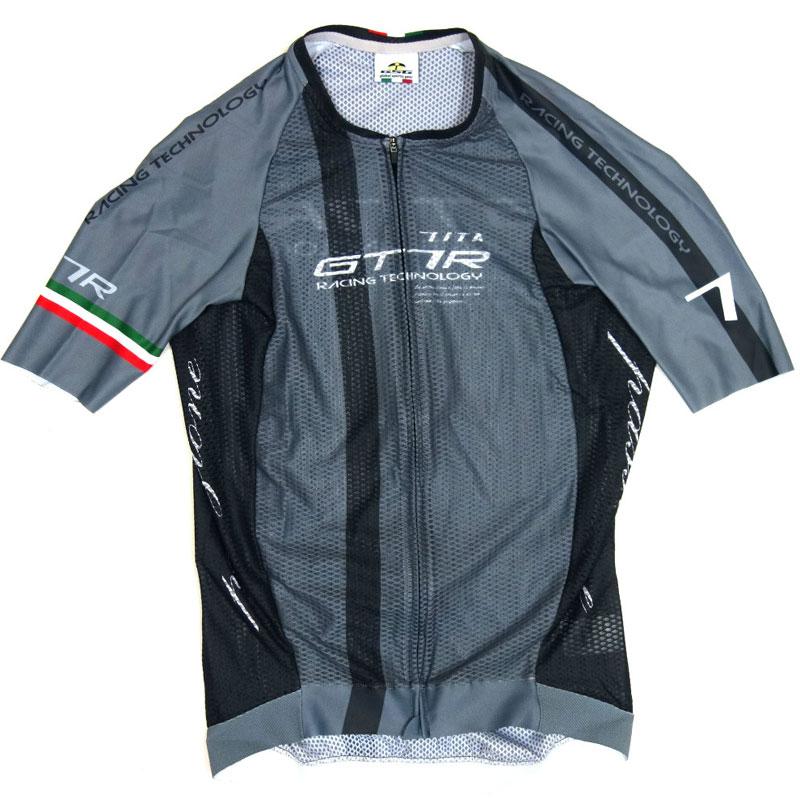 セブンイタリア GT-7RR Climber's Jersey グレー/ブラック