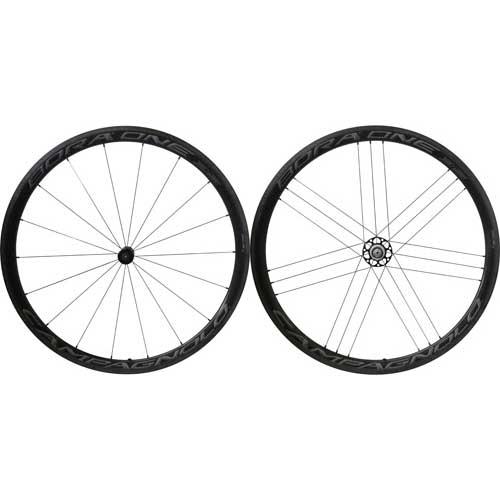 カンパニョーロ BORA ONE 35 チューブラー カンパニョーロ用 前後セット ダークラベル AC3【自転車】【ロードレーサーパーツ】