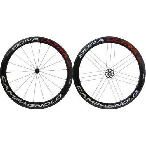 カンパニョーロ BORA ULTRA 50 チューブラー シマノ用 前後セット AC3【自転車】【ロードレーサーパーツ】
