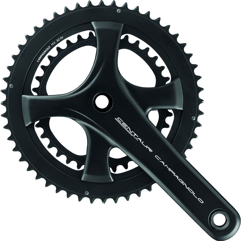 カンパニョーロ CEUNTAUR UT 11s 50-34T ブラック クランクセット【自転車】【ロードレーサーパーツ】