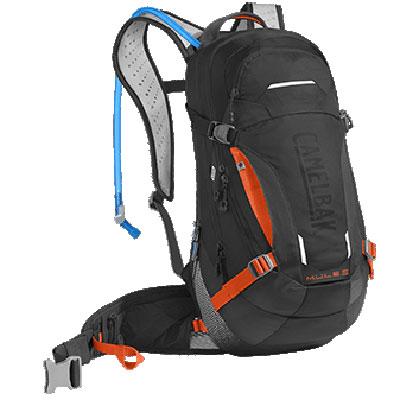 キャメルバック MULE LR15 ブラック/レーザーオレンジ ハイドレーションバッグ
