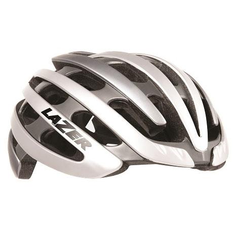 シマノレーザー Z1 ホワイト/シルバー ヘルメット LAZER