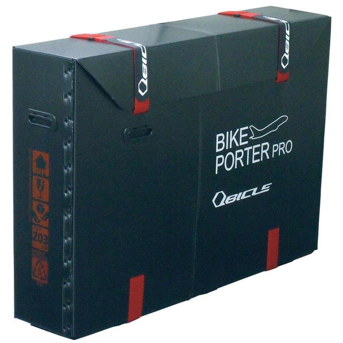 ★【同梱不可】キュービクル バイクポーター(Bikeporter) スタンダードサイズ ブラック ベルト2本付