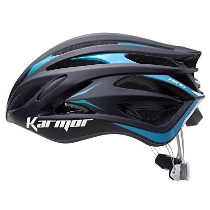 【急行】カーマー FEROX2(フェロックス2) ブラック/ブルー ヘルメット Boaシステム搭載 Karmor