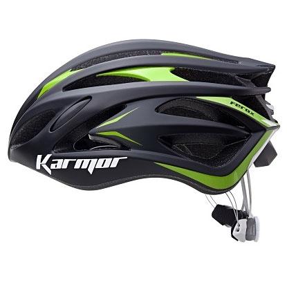 【急行】カーマー FEROX2(フェロックス2) ブラック/グリーン ヘルメット Boaシステム搭載 Karmor