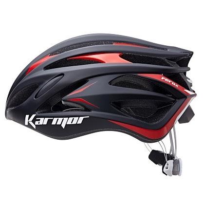 【急行】カーマー FEROX2(フェロックス2) ブラック/レッド ヘルメット Boaシステム搭載 Karmor