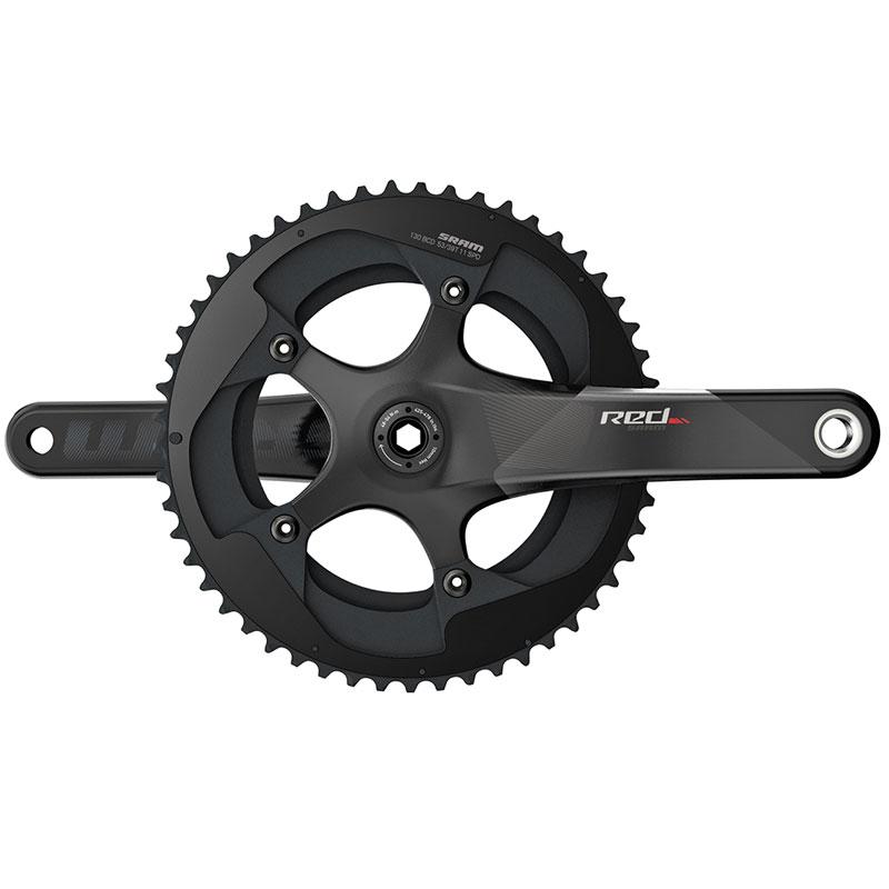 スラム RED22 BB30 Crankset 50-34T【自転車】【ロードレーサーパーツ】