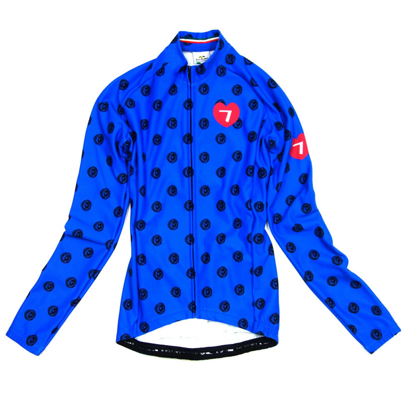 セブンイタリア Colorato Lady LS Jersey Blue レディース