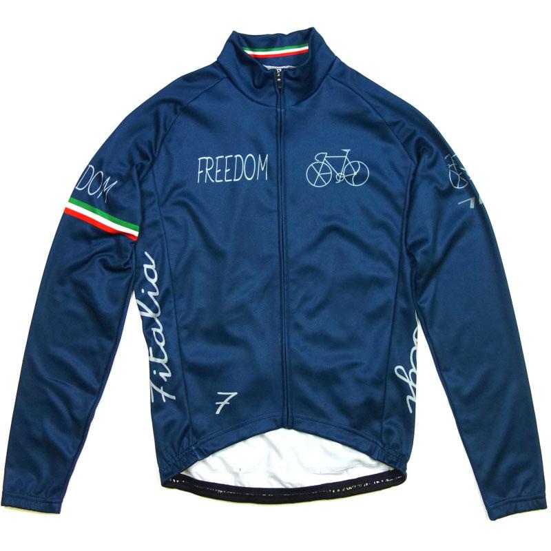セブンイタリア Freedom Bicycle LS Jersey Blue