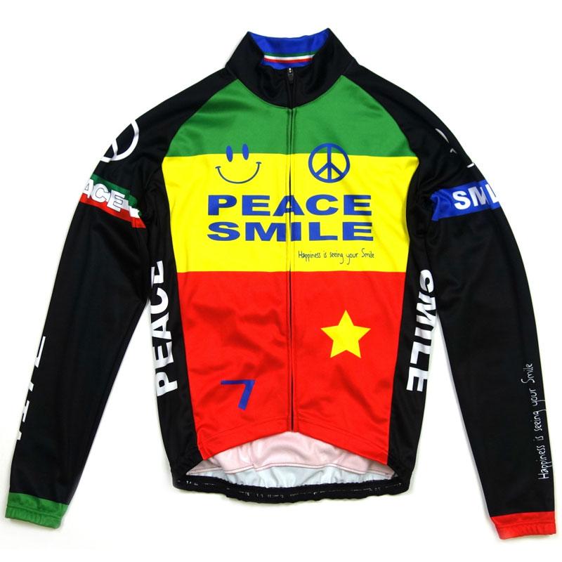 セブンイタリア Peace&Smile LS Jersey Rasta