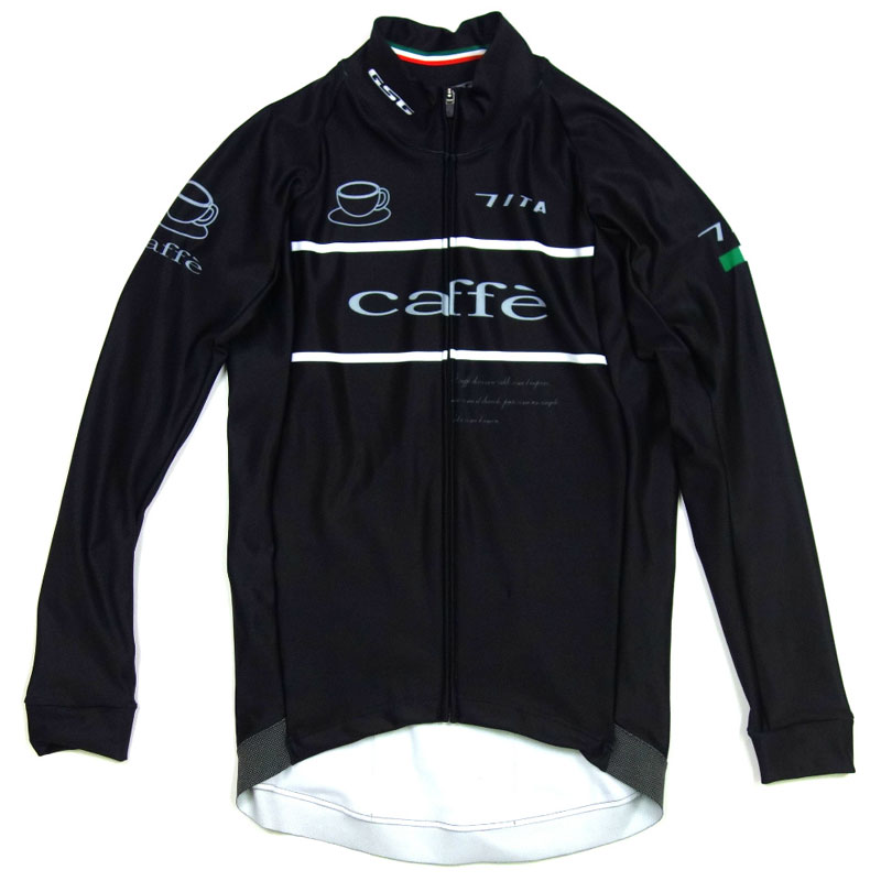 セブンイタリア Retro Cafe LS Jersey Black