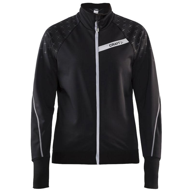 クラフト Belle Glow Jacket ブラック/シルバーリフレクティブ レディース
