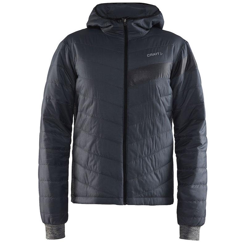 クラフト Verve XT Padded Jacket DKグレイメランジ/ブラック