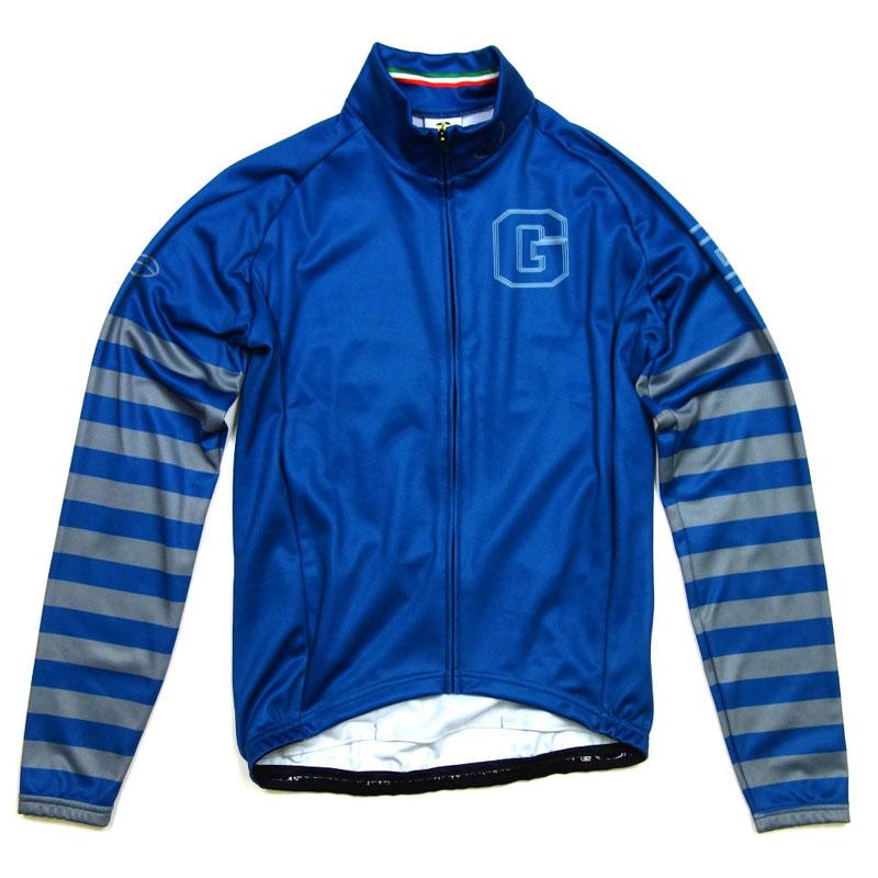 GSG Blue & Stripe LS Jersey Blue