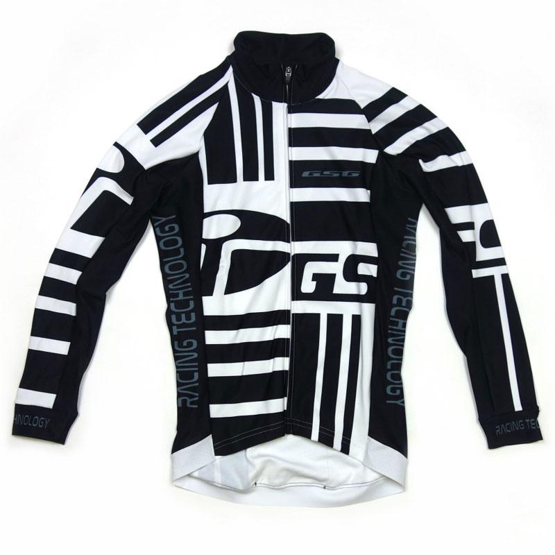 GSG Mono LS Jersey White/Black