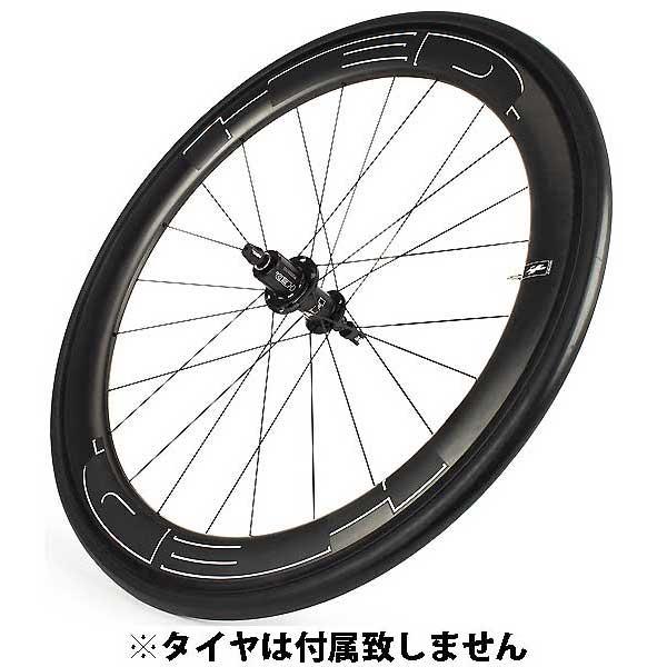 HED JET6 PLUS BLACK クリンチャー カンパニョーロ用 後のみ (700C) ロード【自転車】【ロードレーサーパーツ】