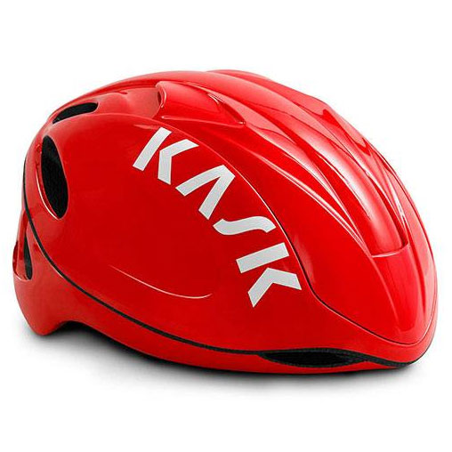 KASK INFINITY レッド/レッド ヘルメット