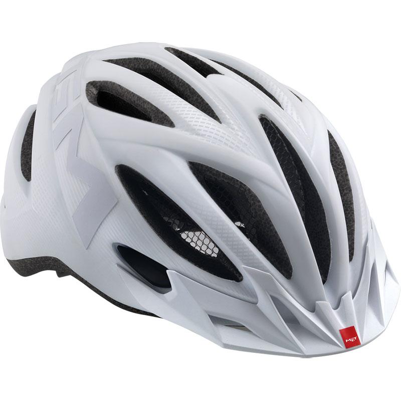 メット 20マイル マットテクスチャーホワイト ヘルメット
