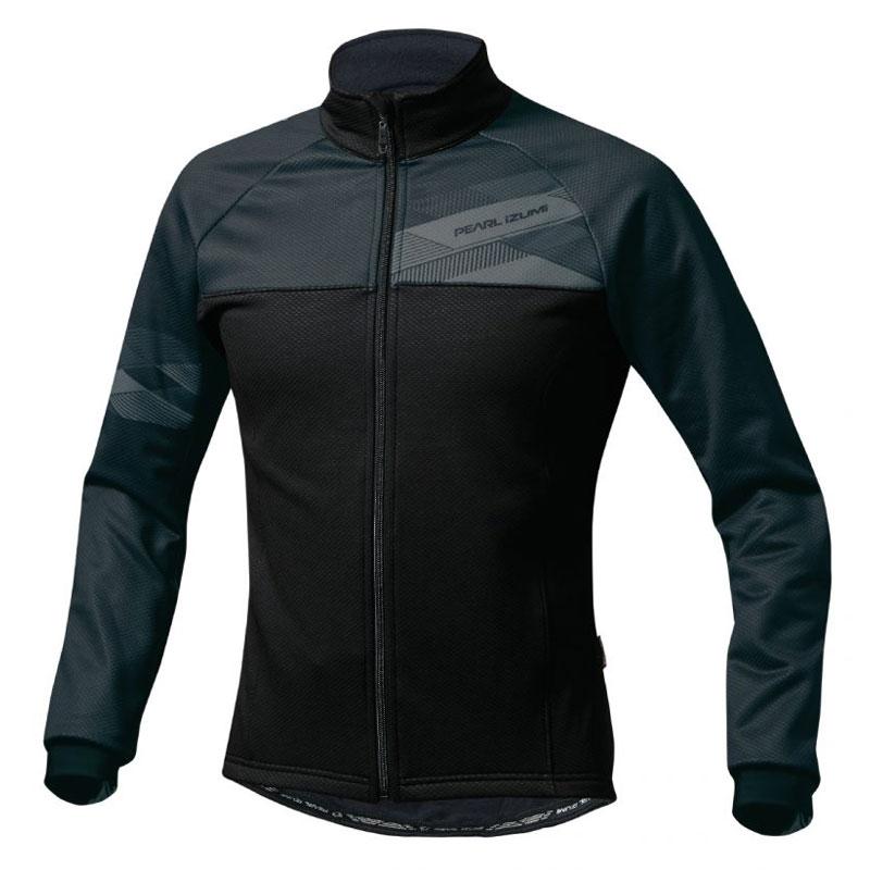 パールイズミ 【L3500-BL】ウィンドブレーク ジャケット(トールサイズ)(5℃対応) 1.ブラック