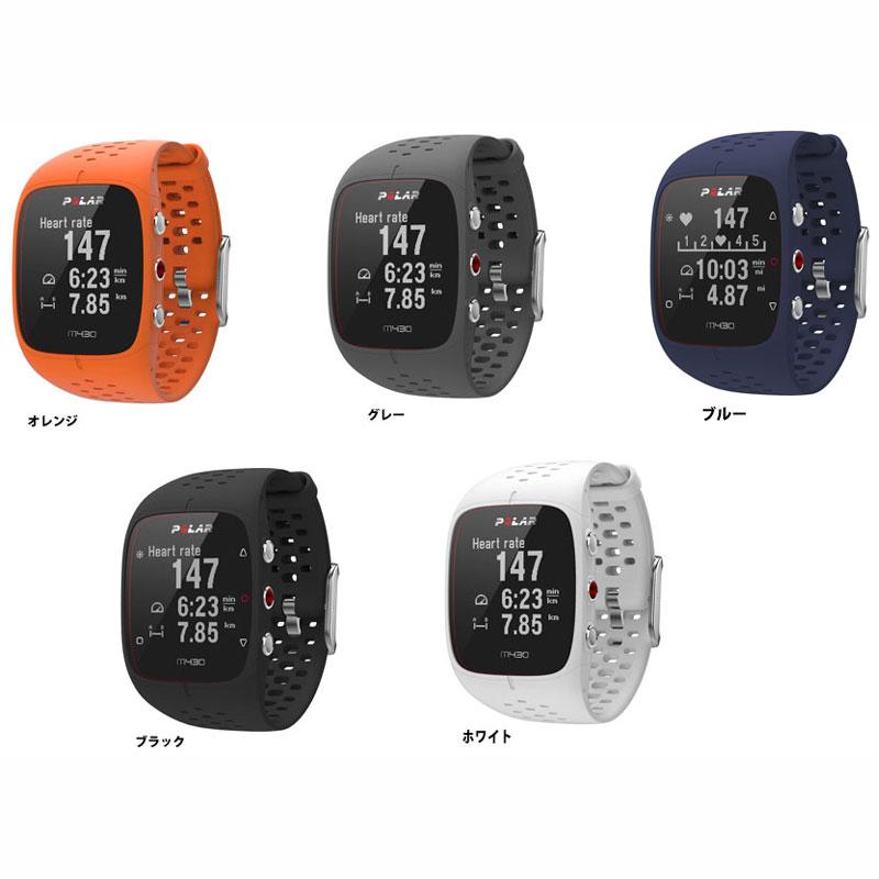 ポラール M430 GPS リストバンド型 心拍計 活動量計 Bluetooth対応