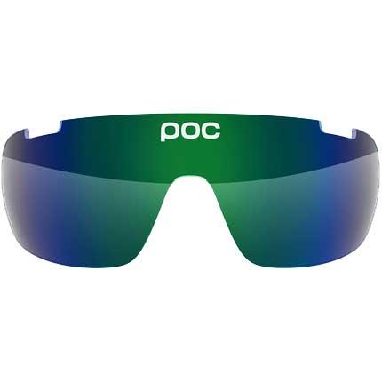 POC Do Half Blade Spare Lens(ドゥ ハーフ ブレイド スペア レンズ)Green/Green Mirror