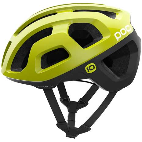 POC Octal X(オクタル エックス) Unobtanium Yellow ヘルメット