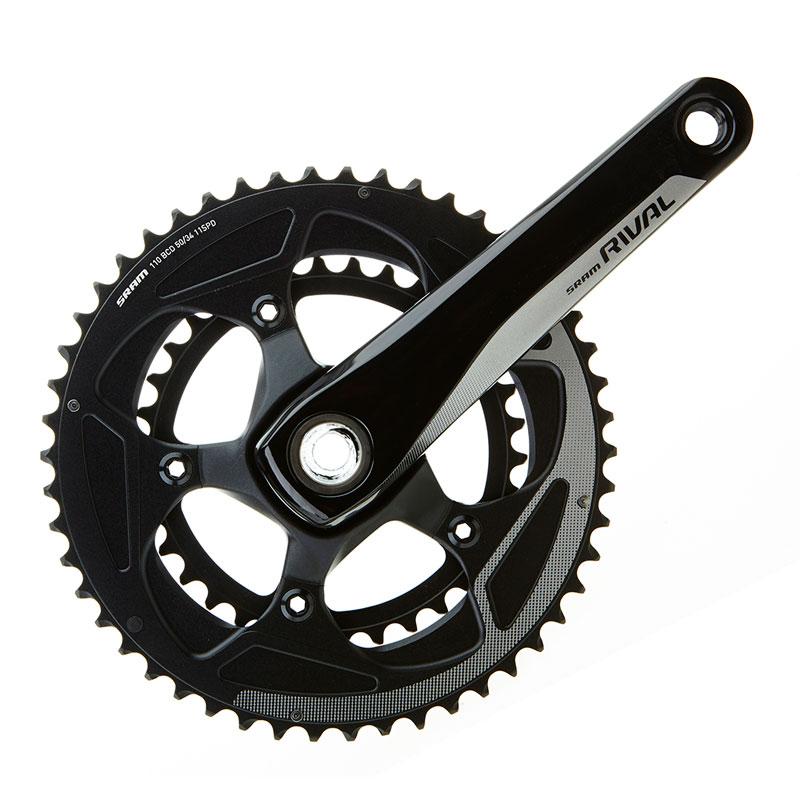 スラム Rival22 GXP Crank Set 50-34T【自転車】【ロードレーサーパーツ】