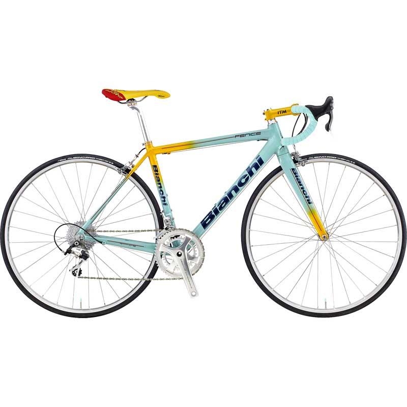 【送料無料】【代引不可】18ビアンキ FENICE PRO SHIMANO 105 Celeste/Yellow