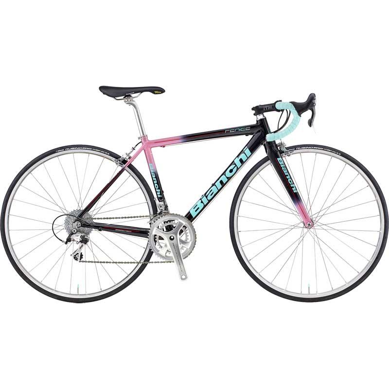 【送料無料】【代引不可】18ビアンキ FENICE PRO CAMPAGNOLO CENTAUR Black/Pink