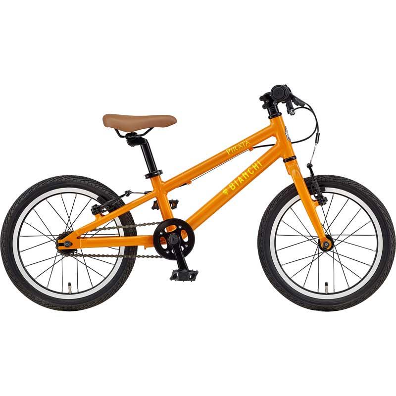 【送料無料】【代引不可】18ビアンキ PIRATA16 Orange