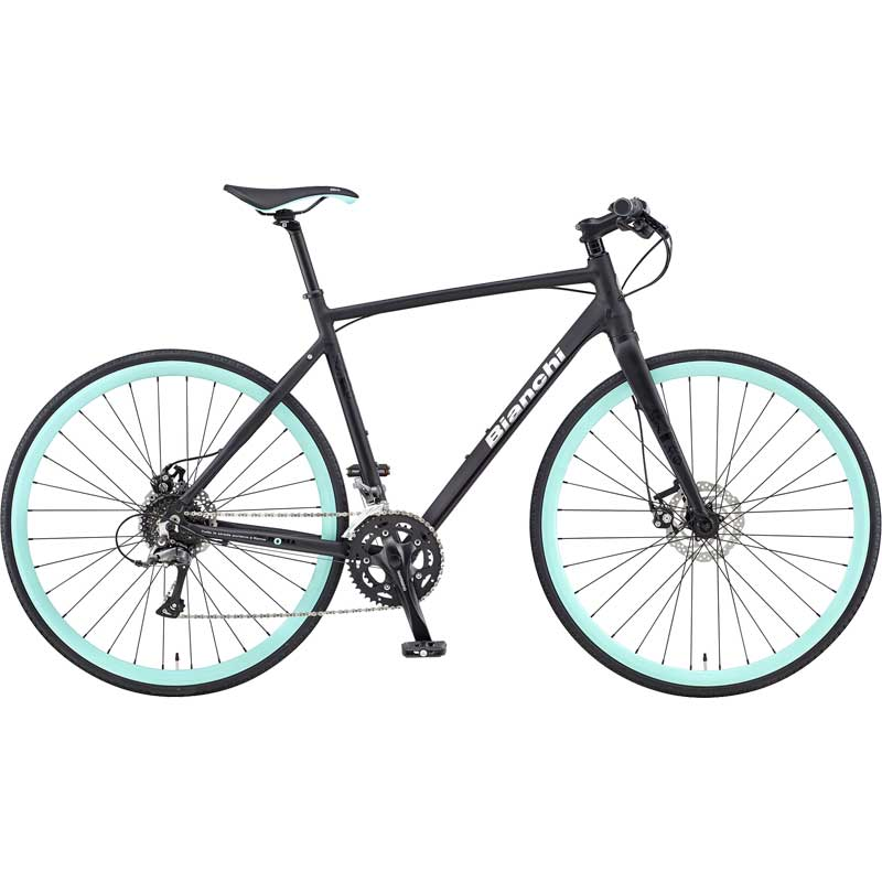 【送料無料】【代引不可】18ビアンキ ROMA3 SHIMANO CLARIS DISC MECHANICAL Matt Black