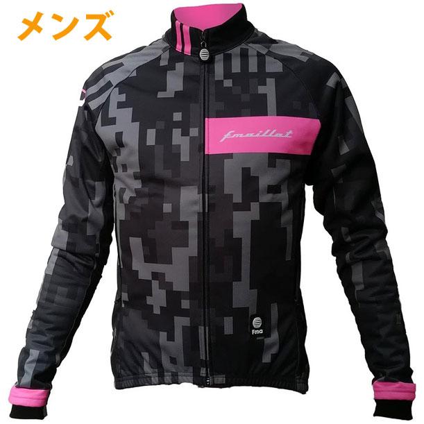 Fma ウィンターシールドジャケット メンズ Digital Camo-Neon Pink