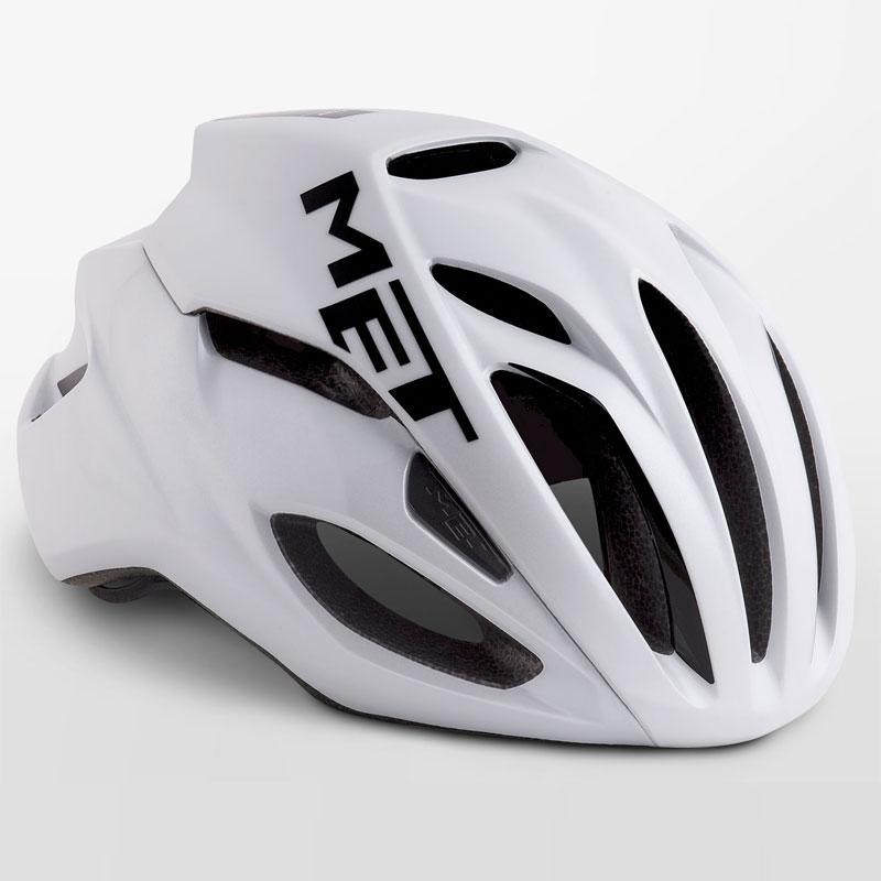 メット リヴァーレ HES ホワイト ヘルメット